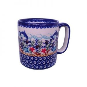 Boleslawiec-Hand-Painted-Mug