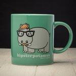 hipsterpotamus-mug