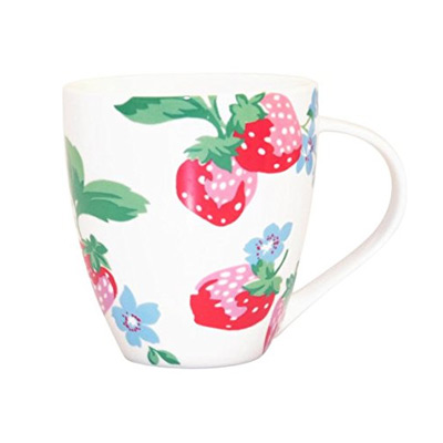 cath kidston strawberry mug