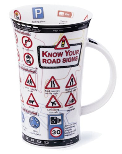 Dunoon Know Your Road Signs Mug